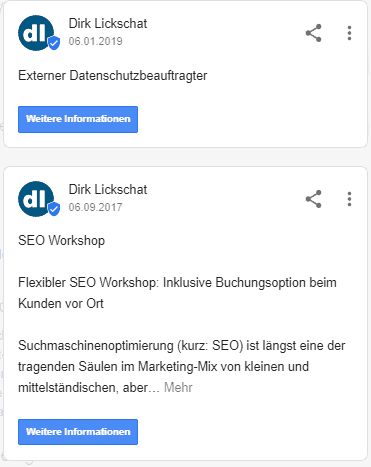 Google My Business optimieren
