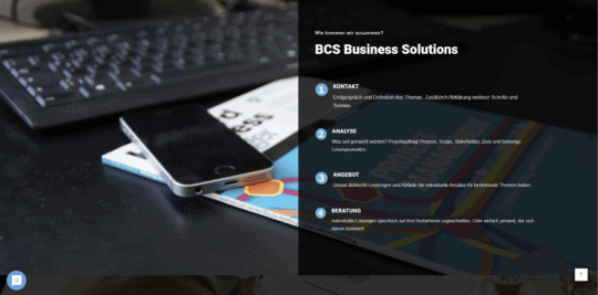Wordpress BCS Consulting